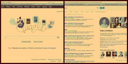 Ada Lovelace no Google