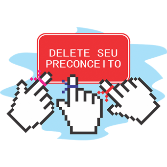Logo do Delete seu Precconceito, por: Jean Carlos Oliveira Santos
