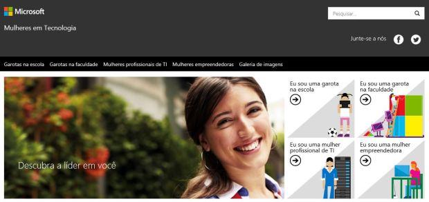 website de mulheres