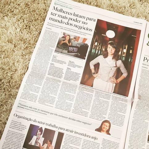 [17/09/17] Estadão: Mulheres, mais poder nos negócios