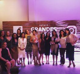 [21/11/16] PEGN e Facebook: Prêmio Grandes Mulheres
