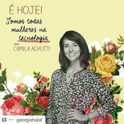 [17/03/16] Georgia Halal: Bate papo #somostodasmulheresnatecnologia