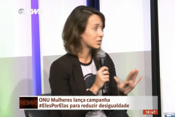 [11/06/15] Globo News: #ElesPorElas