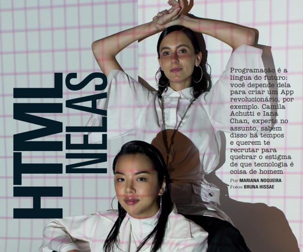 [08/03/18] Revista Glamour, mês de março, especial carreiras - Programadoras