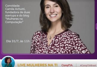 [31/07/18] Live Mulheres na TI - CompTIA Brasil